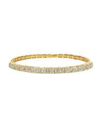 Suzanne Kalan 18 Karat Gold Diamond Choker