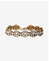 Express Mixed Stone Deco Choker Necklace