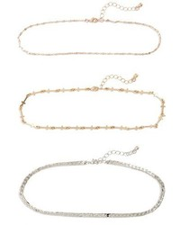 Set Of 3 Assorted Chokers