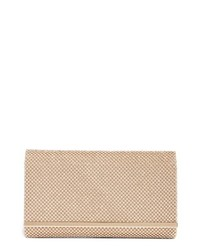 Nordstrom Crystal Mesh Bar Clutch