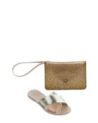 Melissa Good Times Slide Sandal Clutch Set
