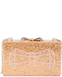 Ted Baker London Bowwe Box Clutch Metallic