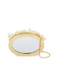 Benedetta Bruzziches Magic Mirror Clutch Bag