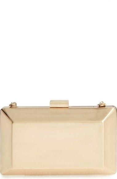 ... La Regale Metallic Box Clutch Metallic ... abcfd4a3b51ad