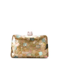 Serpui Mother Of Pearl Clutch