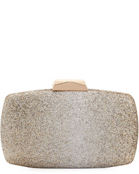 Neiman Marcus Ombr Glitter Box Clutch Bag