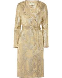 By Malene Birger Antea Metallic Jacquard Coat