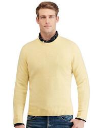 Gold Crew-neck Sweater