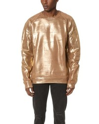 MSGM Gold Sweatshirt