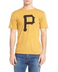 Red Jacket Pittsburgh Pirates Brass Tacks Trim Fit T Shirt