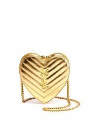 Saint Laurent Monogram Small Love Crossbody Bag