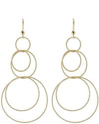 Carolina Bucci 18 Carat Gold Overlapping Hoop Earrings