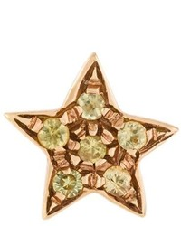 Carolina Bucci 18kt Rose Gold Superstellar Star Stud Earring