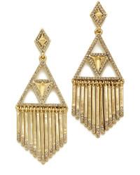 House Of Harlow 1960 Golden Hour Fringe Earrings