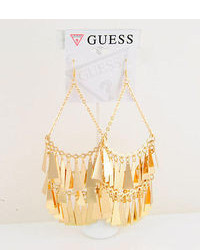 5 14kt Gold Ep Hollywood In Crowd Chandelier Earrings By Guess