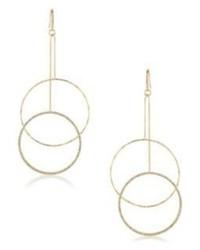 ABS by Allen Schwartz Jewelry Double Ring Drop Earrings