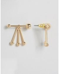 Asos Abstract Swing Earrings