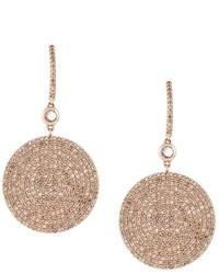 Astley Clarke Large Icon Diamond Drop Earrings