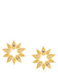 Astley Clarke Mini Sun Biography Stud Earrings