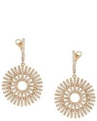 Astley Clarke Rising Sun Diamond Earrings