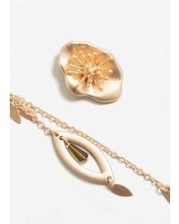 Mango Asymmetric Earrings