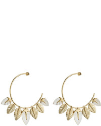 Aurelie Bidermann Aurlie Bidermann Creolen Talitha 18kt Gold Plated Earrings