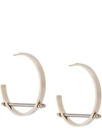 Givenchy Bar Hoop Earring