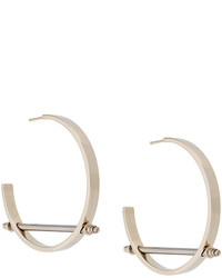 Givenchy Bar Hoop Earrings