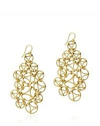 Carnet de Mode Arabel Lebrusan Chandelier Earrings