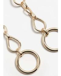 Violeta BY MANGO Chain Earrings