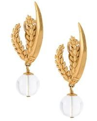 Chanel Vintage Bead Drop Earrings