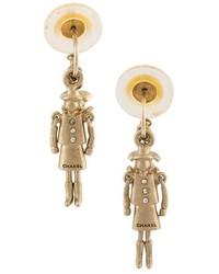 Chanel Vintage Mademoiselle Drop Earrings