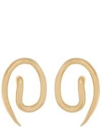 Charlotte Chesnais Whirl Gold Plated Earrings