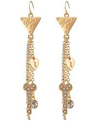 GUESS Charmy Linear Earrings Ii