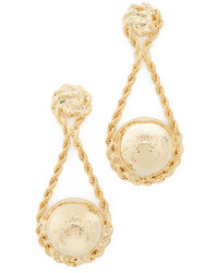 Rosantica Coin Wrapped In Chain Earrings
