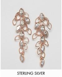 Ted Baker Crystal Wisteria Cascade Drop Earrings