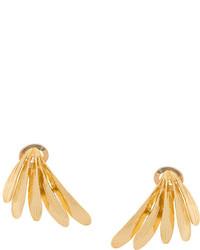 Wouters & Hendrix Curiosities Leaf Clip On Earrings