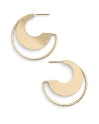 Nordstrom Cutout Hoop Earrings