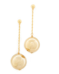 Kenneth Jay Lane Dangling Sphere Earrings