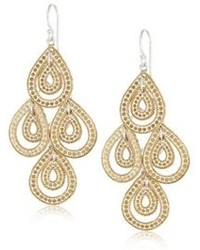 Anna Beck Designs Gili Gold Plated Sterling Silver Teardrop Chandelier Earrings