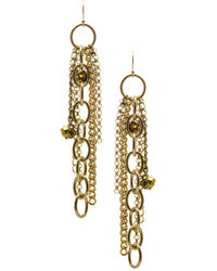 Janna Conner Designs Gold Long Gabor Earrings