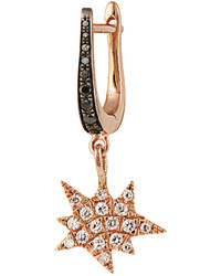 Diane Kordas Diamond Rose Gold Explosion Earring