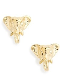 Tory Burch Elephant Stud Earrings