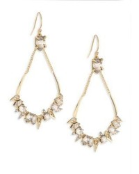 Alexis Bittar Elets Spiked Crystal Open Drop Earrings