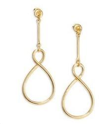 Elizabeth and James Marit Twist Drop Earrings