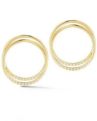 Elizabeth and James Elson Frontal Hoop Earrings