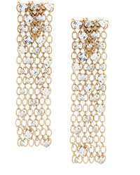 Lanvin Embellished Cage Drop Earrings