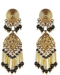 Etro Embellished Medallion Earrings