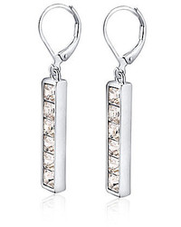 T Tahari Essential Crystal Linear Drop Earring
