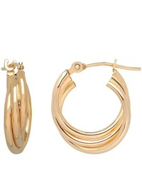 FINE JEWELRY 10k Gold Hoop Earrings